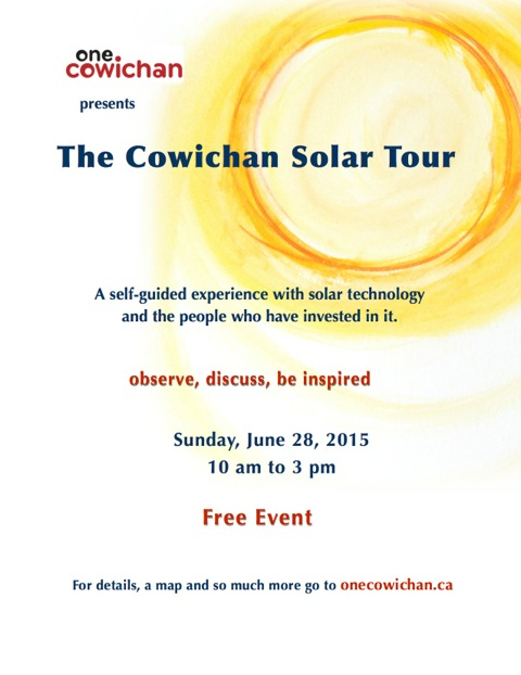 solar tour poster